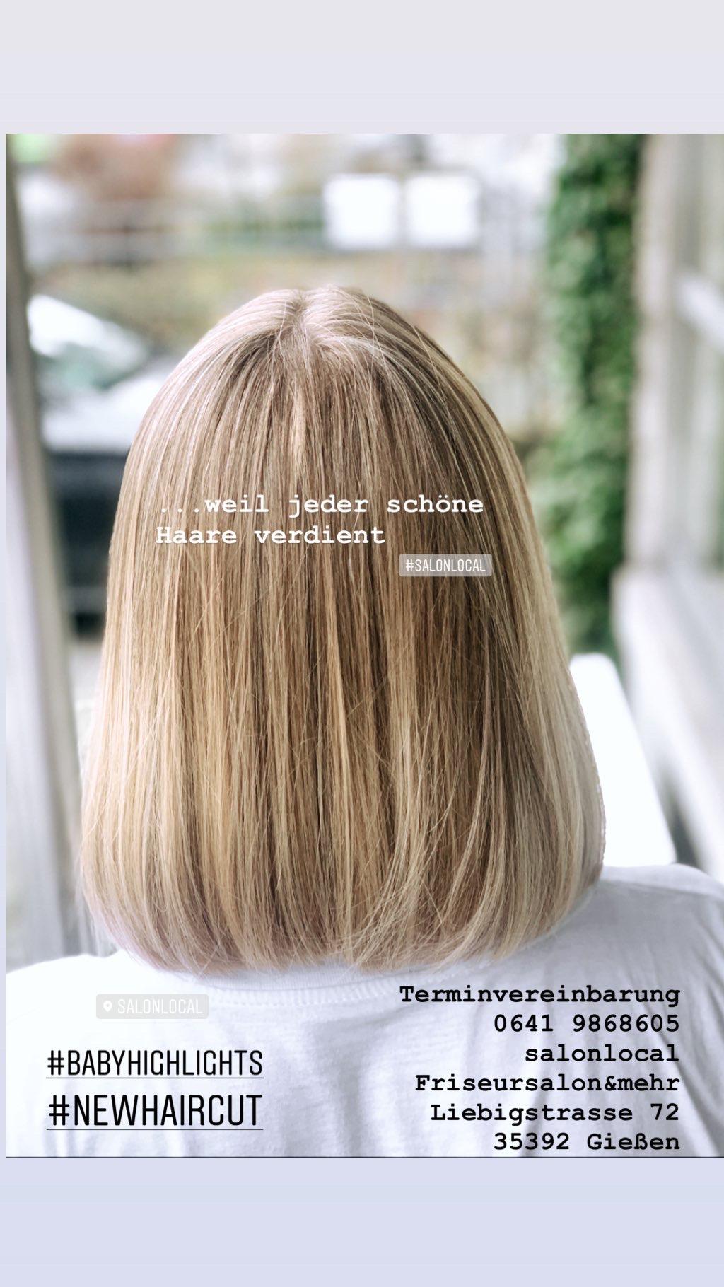 ...weil jeder schone Haare verdient #salonlocal - salonlocal Friseursalon & mehr Gießen