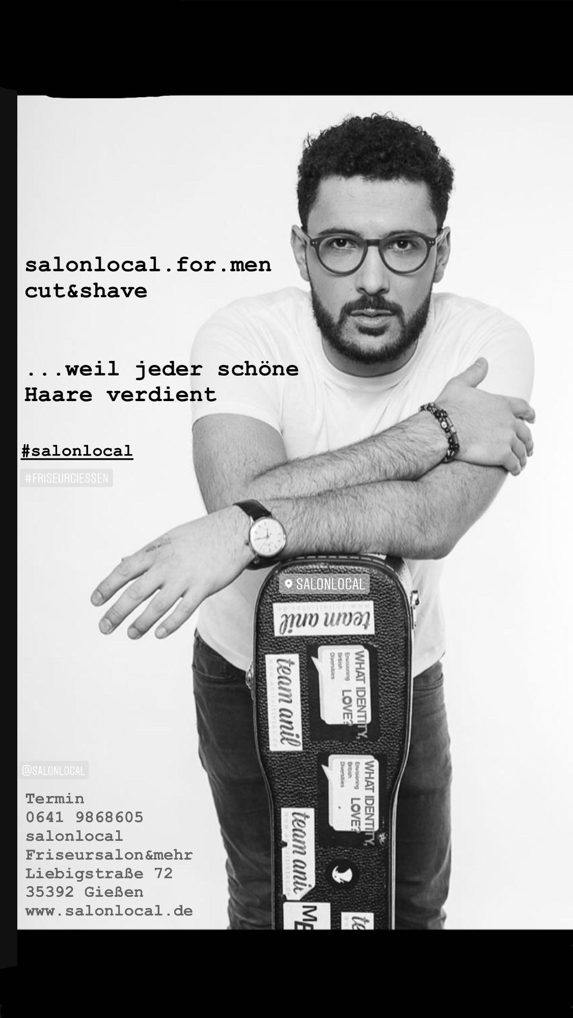 salonlocal Friseursalon & mehr für Männer - cut & shave - Gießen